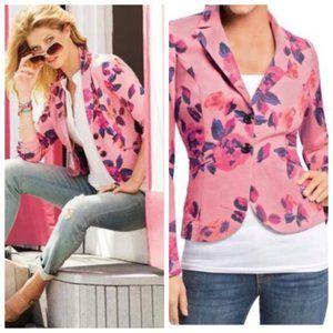 CAbi Rose Garden Blazer Jacket Style 804 SZ 8